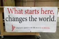 Infant Jesus Banner