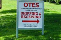 OTES Metal Sign