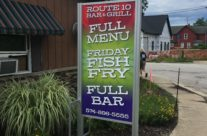 Route 10 Bar & Grill Sign