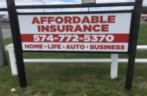 Affordable Insurance Sign