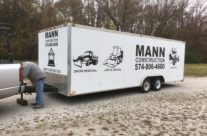 MANN Construction Trailer Decals